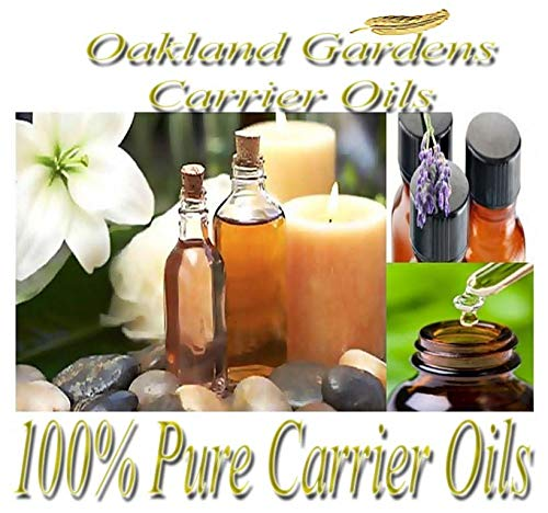 Safflower Oil - CARRIER OIL 100% Pure For Diluting Essential Oil - SOOTHES - high in linoleic acid - Carrier Oil By Oakland Gardens (08.0-8 oz)