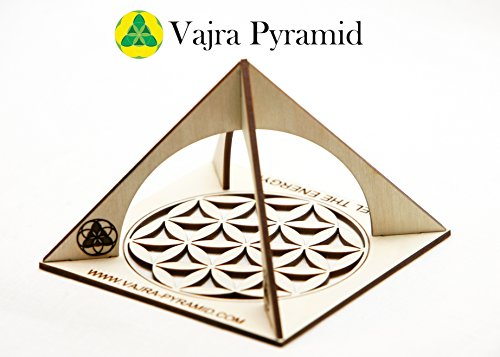 (Plywood Pyramid - Energy Generator - REIKI HEALING - LARGE & POWERFUL! Add Yours to Cart Now!)