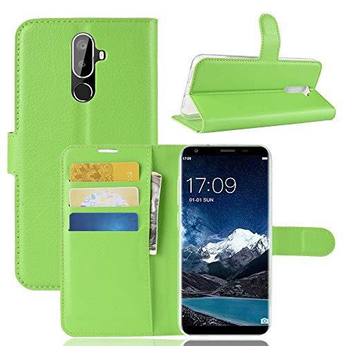 TOTOOSE Oukitel K5 Case,Oukitel K5 Case,Women Premium PU Leather Wallet Snap Case Women Women Flip Case Replacement for Oukitel K5 Green