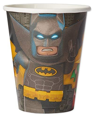 American Greetings Lego Batman 9-oz. Paper Cups, 32-Count