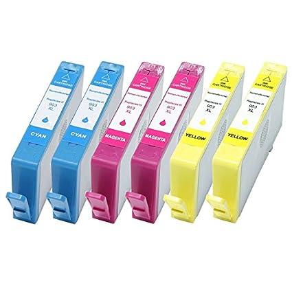 6 Cartuchos de impresora con chip reemplazar HP 903 X L para HP ...