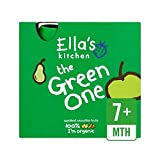 Ella's Kitchen Organic Smoothie Fruits The Green One 5 x 90g - Pack of 6