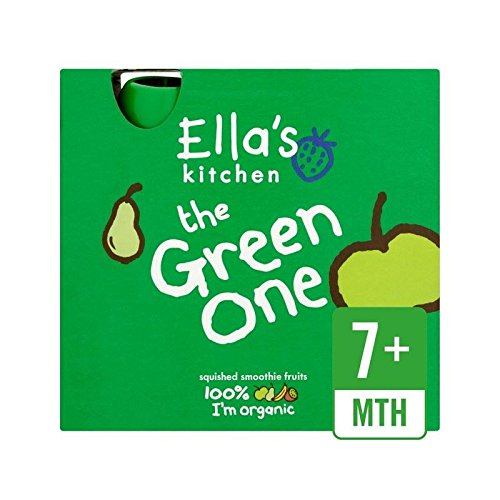 Ella's Kitchen Organic Smoothie Fruits The Green One 5 x 90g