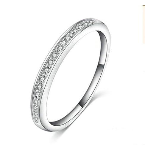 apluto, anillos de boda para mujeres Teen Girls Forma geométrica chapado en plata: Apluto: Amazon.es: Joyería