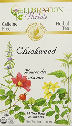 Celebration Herbals Chickweed Tea Bags 1 26oz