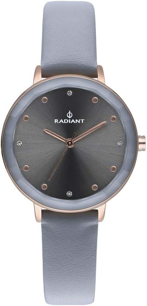 Radiant Katrine Reloj para Mujer Analógico de Cuarzo con Brazalete de Piel de Vaca RA467607