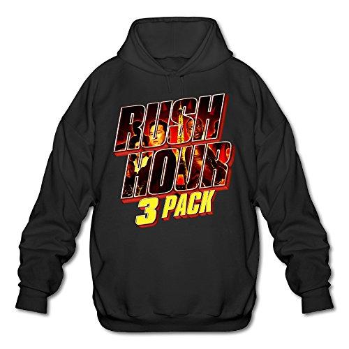 Xjbd men 39 s rush hour trilogy hoodies black size xl for Bryce harper mvp shirt