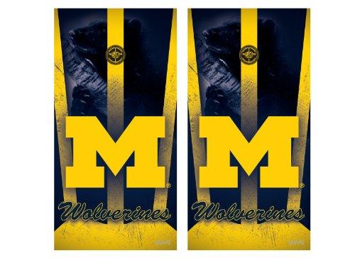 NCAA College Michigan Wolverines Cornhole (Michigan Wolverines Ncaa Peel)