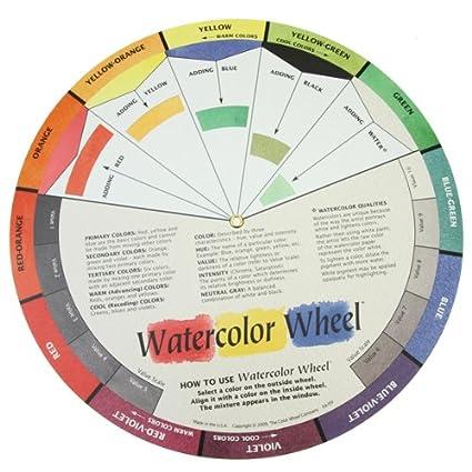 Amazon Com The Color Wheel Company Watercolor Wheel Watercolor
