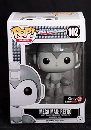 Funko POP! Games Retro Mega Man Exclusive #102