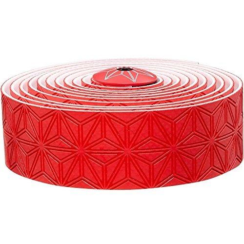 Supacaz Super Sticky Kush Silicone Gel Bar Tape (Red)