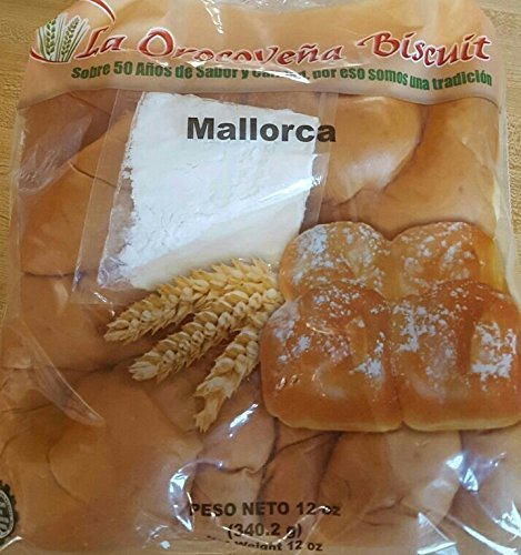 1 Pack of Puerto Rican Sweet Rolls (Mallorcas) Pacheco: Amazon.com: Grocery & Gourmet Food