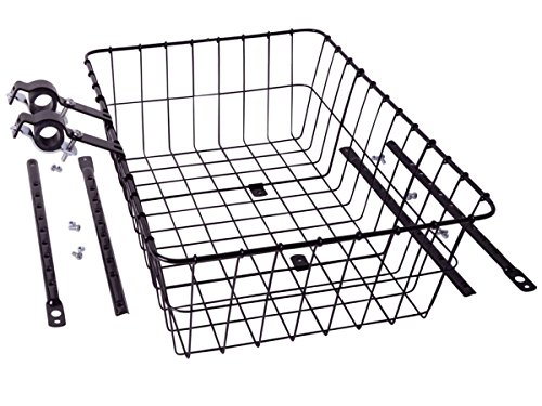 (Wald 1392 Front Basket: Gloss Black; LG)