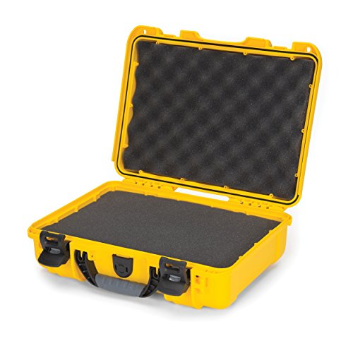 Nanuk 910 Waterproof Hard Case with Foam Insert - Yellow