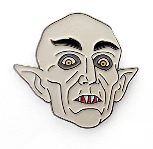 Pinsanity Nosterafu Vampire Horror Enamel Lapel Pin