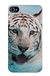 meilinF000Graceyou High Quality Water Animals Tigers White Tiger Case For Iphone 5c / Perfect Case For LoversmeilinF000