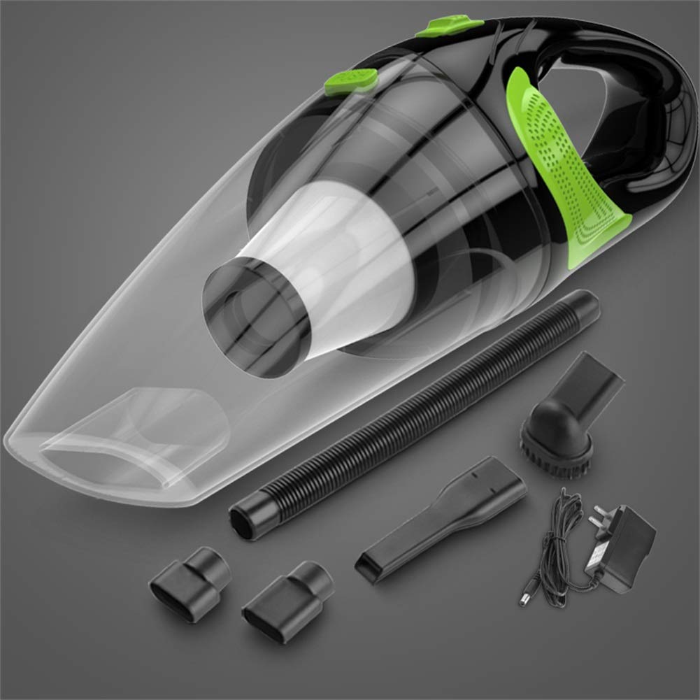 GXFC Car Vacuum Cleaner,for Home/Car Wet/Dry Wireless Charging Highpower Portable Dust Collector (Size : L)