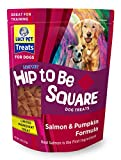 Lucy Pet Hip To Be Square Salmon And Pumpkin Dog Treats 6Oz For Sale