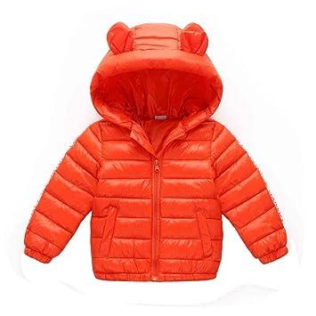 3a51b5ddfb389 HOQTUM Doudoune pour Enfants d automne et d hiver Veste Chaude à Capuche  pour