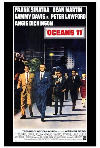 Oceans 11 POSTER Movie (27 x 40 Inches - 69cm x 102cm) (1960)