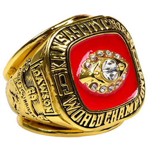 GF-sports store Replica Championship Ring for 1969 Kansas City Chiefs Gift Fashion Gorgeous Collectible Ring
