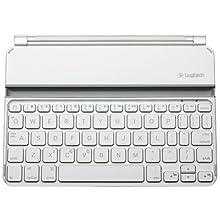 Logitech Ultrathin Keyboard Cover Mini for iPad mini - White