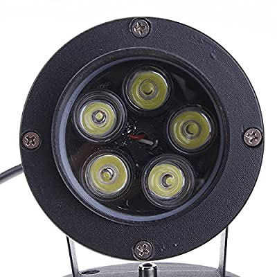 10W LED Flood Spotlight With Rod For Garden Yard Path IP65 AC 85-265V (Color White)