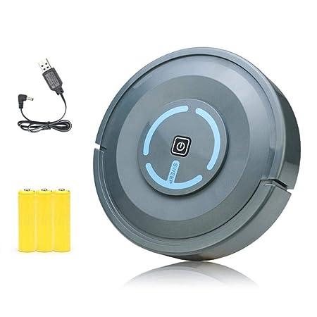 Hamkaw Robot Aspirador con MAX Power Suction, Mini Robot De ...