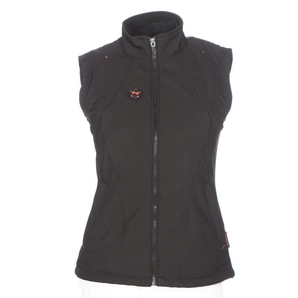 Mobile Warming Women's Dual Power Heated 12.v Vest (Black, Small)
