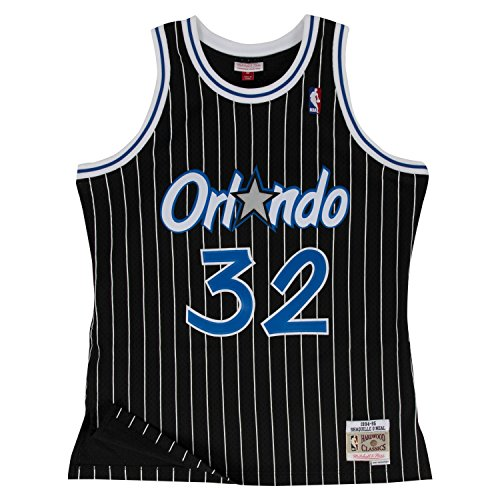 Shaquille O'Neal Orlando Magic Mitchell & Ness Swingman Jersey Black (Large) from Mitchell & Ness
