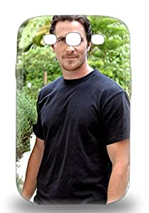 Galaxy Perfect Tpu 3D PC Case For Galaxy S3 Anti Scratch Protector 3D PC Case Christian Bale The United Kingdom Male Christian Charles Philip Bale The Flowers Of War ( Custom Picture iPhone 6, iPhone 6 PLUS, iPhone 5, iPhone 5S, iPhone 5C, iPhone 4, iPhone 4S,Galaxy S6,Galaxy S5,Galaxy S4,Galaxy S3,Note 3,iPad Mini-Mini 2,iPad Air )