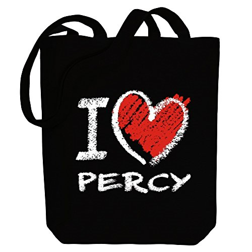 Names chalk Percy love Canvas Tote style Idakoos Male I Bag qtFUnY