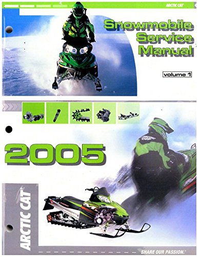 2257-148 2005 Arctic Cat Snowmobile Service Repair Manual Volume 1 pdf epub