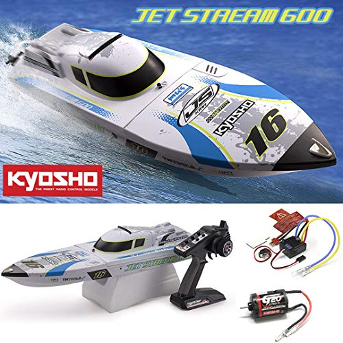 Kyosho EP Jetstream 600 Type 2 ReadySet Brushless Boat - Racing Kyosho
