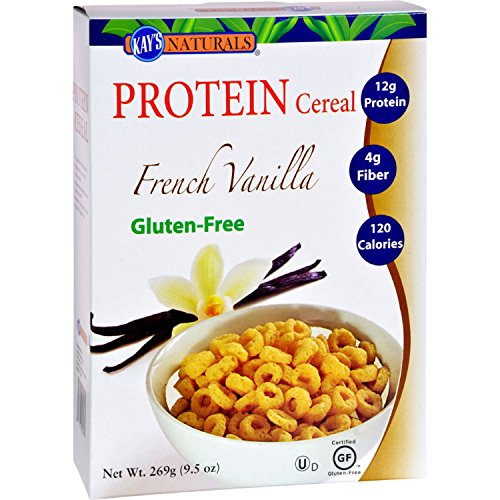 Kay's Naturals Kays Naturals Better Balance Protein Cereal French Vanilla - 9.5 oz - Case of 6 by Kays Naturals (Image #2)