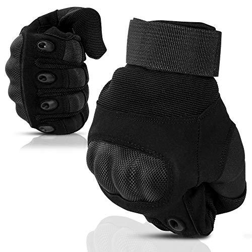 Nasharia Gants Tactiques Renforcés Ecran Tactile Respirable pour Auto Moto, Vélo, Motocross, Combat, Camping,Randonné… 1