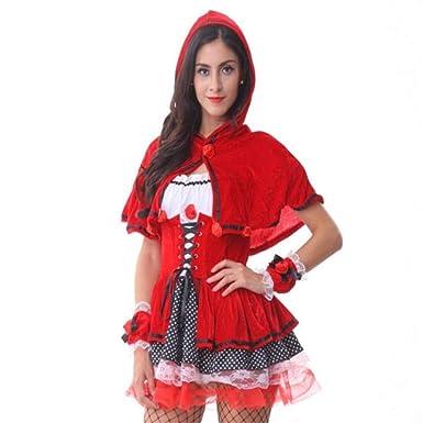 Amazon.com: Yandam - Traje de cosplay para mujer, disfraz de ...