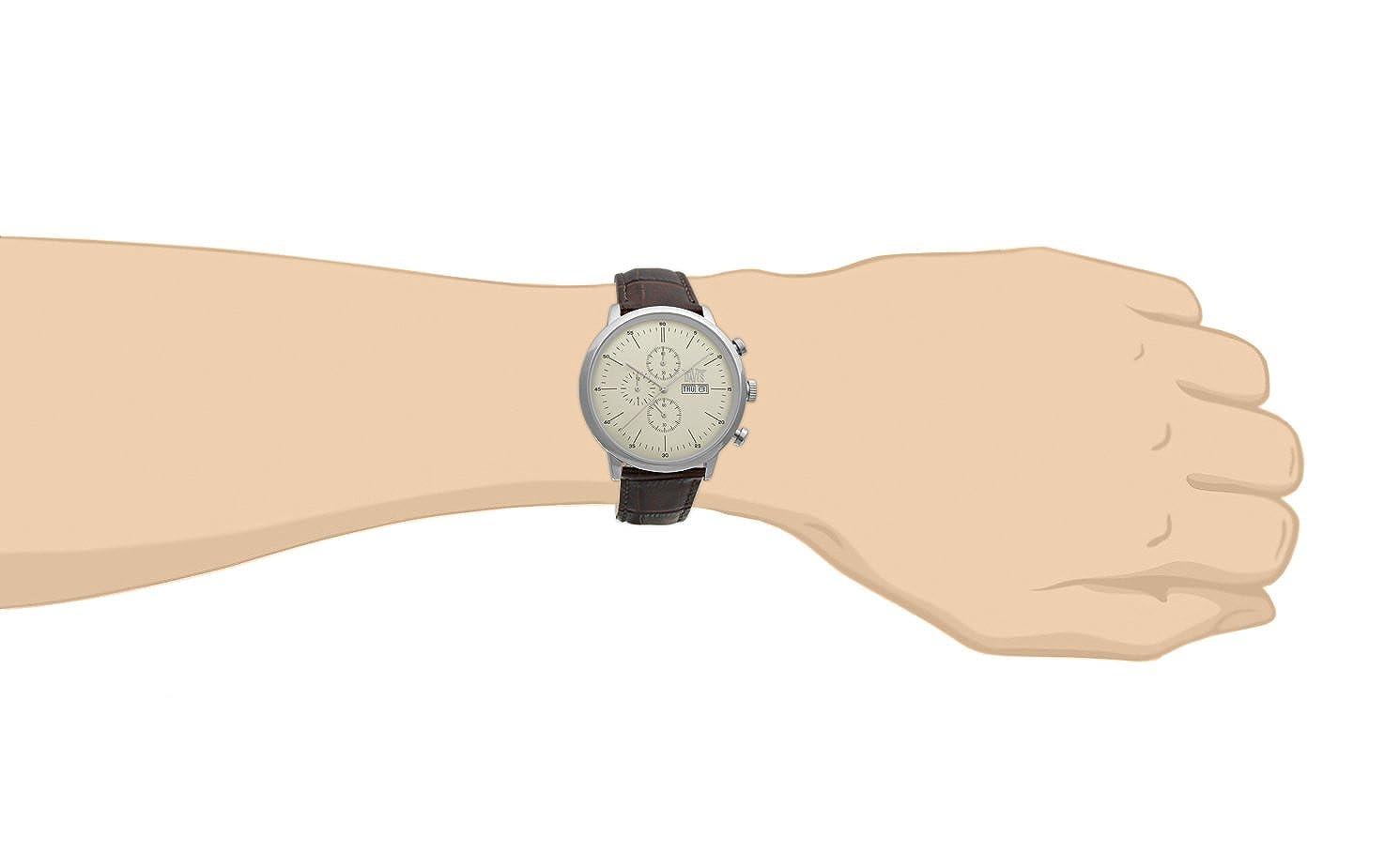 4ea670208021 Davis 1950- Reloj retro clasico para hombre