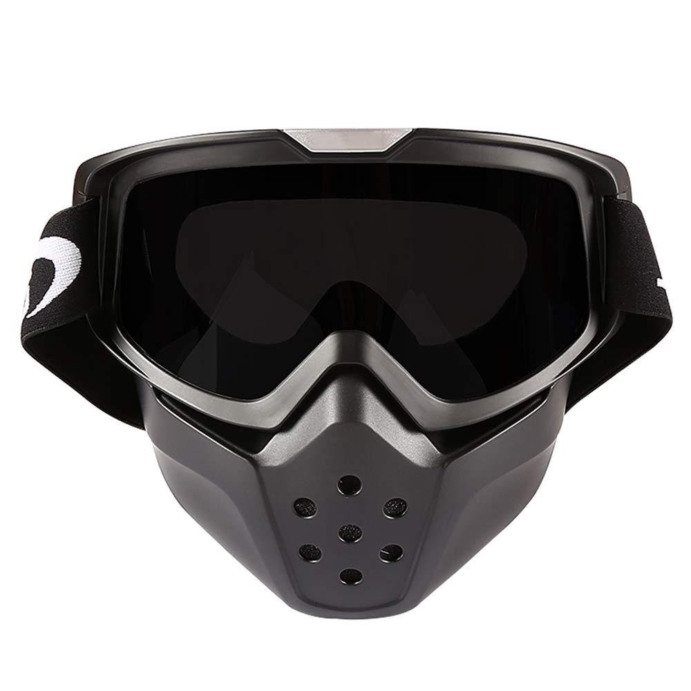 6aef780ba9 WUHX Racing mueca Gafas de mascarilla Que montan esquí Vuelo aéreo  antirrayas Gafas de Sol a