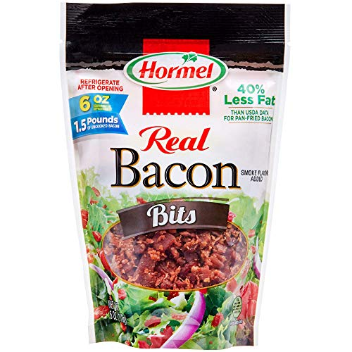 Hormel Real Bacon Bits, 6 Ounce Pouch (Pack of 6) (Hormel Real Bacon)