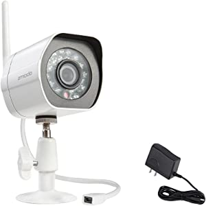Zmodo Camera ZM-W0002 720p HD Wireless Outdoor Bullet IP Camera with Night Vision Retail