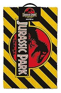 Amazon Com Merchandiseonline Jurassic Park Door Floor