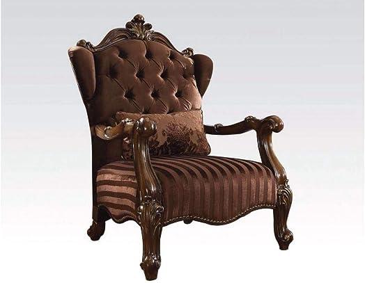 ACME Versailles Brown Velvet Chair
