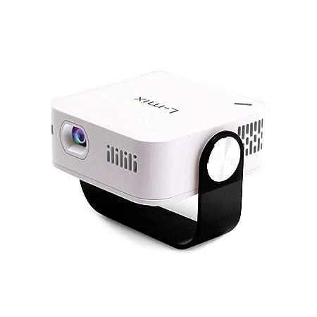 Mini Proyector Portátil Proyector Pico HD LED 2000 lúmenes ...