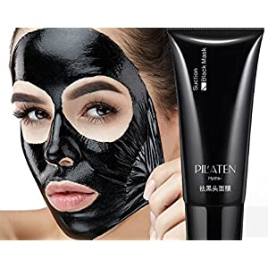 Blackhead Remover Mud Mask Peel - Purifying Quality Black Peel off Mask Best Mud Facial Mask Deep Pore Cleanse for Acne, Control 60g