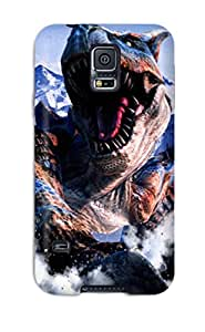 Premium Protection Hunter Fantasy Case Cover For Galaxy S5- Retail Packaging