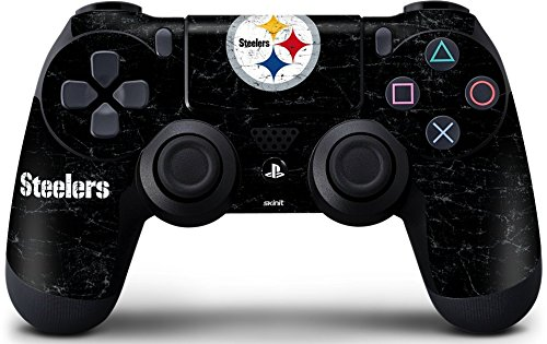 NFL Pittsburgh Steelers Distressed Skin for Sony PlayStation 4/ PS4 Dual Shock4 Controller