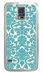Ornate Clear Hard Case Cover Skin For Samsung Galaxy S5 I9600