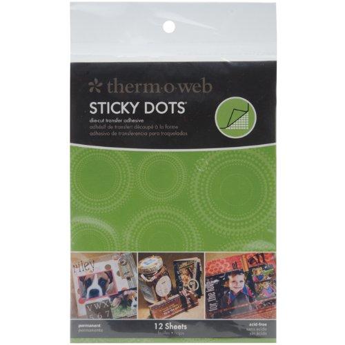 Therm O Web Sticky Dots Adhesive Sheets (Sticky Web)