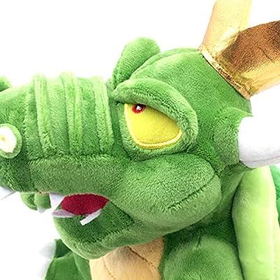 Meijiada Super Mario Bros King Koopa Bowser Plush Toy Stuffed Animal 12 Inches: Toys & Games